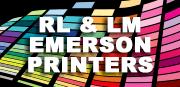 RL & LM Emerson Printers